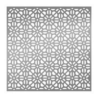 "Ultimate Crafts 6x6"" Stencil L'Aquarelle Rolling Mesh"
