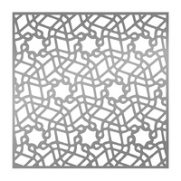 "Ultimate Crafts 6x6"" Stencil L'Aquarelle Lace Doily"