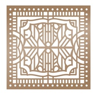 "Ultimate Crafts Stencil 6x6"" The Ritz Collection Architechture"