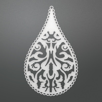 Ultimate Crafts Bohemian Bouquet Decorative Die Teardrop Damask