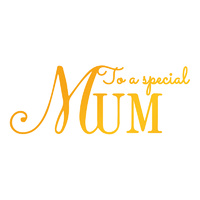 Ultimate Crafts Hotfoil Stamp Classic Sentiments Special Mum