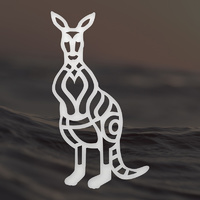 Ultimate Crafts Mini Die Australiana Kangaroo