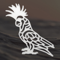 Ultimate Crafts Mini Die Australiana Cockatoo