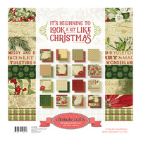 "Ultimate Crafts It's Beginning to Look a Lot Like Christmas 12x12"" Paper Pad 32pg"