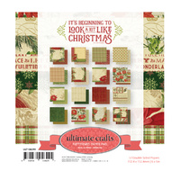 "Ultimate Crafts It's Beginning to Look a Lot Like Christmas 6x6"" Paper Pad 32pg"