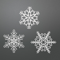 Ultimate Crafts It's Beginning to Look a Lot Like Christmas Die Snowflake