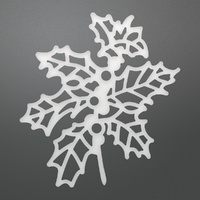 Ultimate Crafts It's Beginning to Look a Lot Like Christmas Die Holly Branch