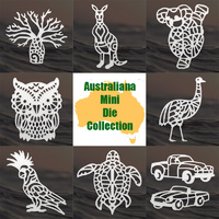 Ultimate Crafts Australiana Mini Die Collection