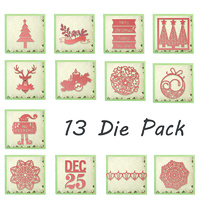 Ultimate Crafts Silent Night Die Collection Pack 13pk