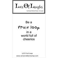 Lots Of Laughs Stamp by Verses Fruit Loop