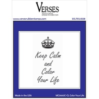 Verses Cling Rubber Stamp Colour Your Life