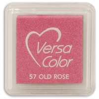 Tsukineko VersaColor Pigment Mini Ink Pad Old Rose