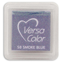 Tsukineko VersaColor Pigment Mini Ink Pad Smoke Blue