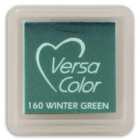 Tsukineko VersaColor Pigment Mini Ink Pad Winter Green