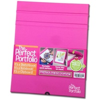 Perfect Paper Crafting Pink Portfolio