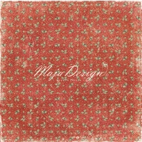 "Maja Design 12x12"" Double Sided Cardstock I Wish For a Holly Jolly Christmas"