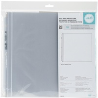 "We R Memory Keepers Post Bound Photo Sleeves 12x12"" Full Page 10pk"