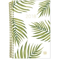 Bloom 2018 Daily Fashion Planner Palm Leaves