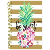 Bloom 2018 Fashion Daily Planner Pineapple