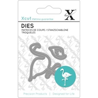Xcut Mini Decorative Die Flamingo 2pk