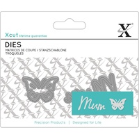 Xcut Mini Sentiments Die Mum