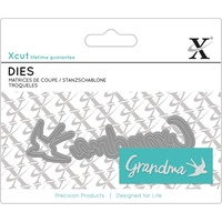 Xcut Mini Sentiments Die Grandma