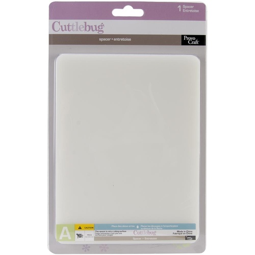 Provo Craft Cuttlebug Spacer Plate A 6x7""