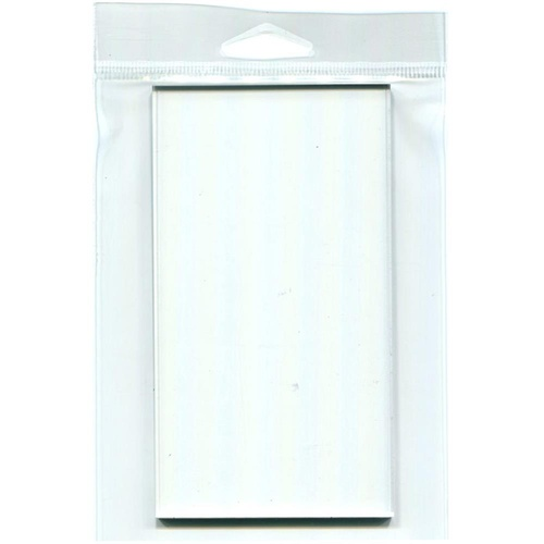 Joggles Clear Acrylic Stamp Mount 4x8""