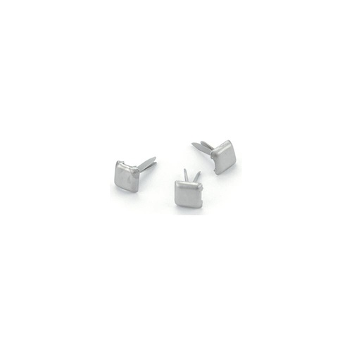 MINI BRADS SQUARE PEWTER