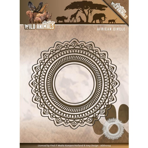 Find It Trading Wild Animals Die African Circle by Amy Design