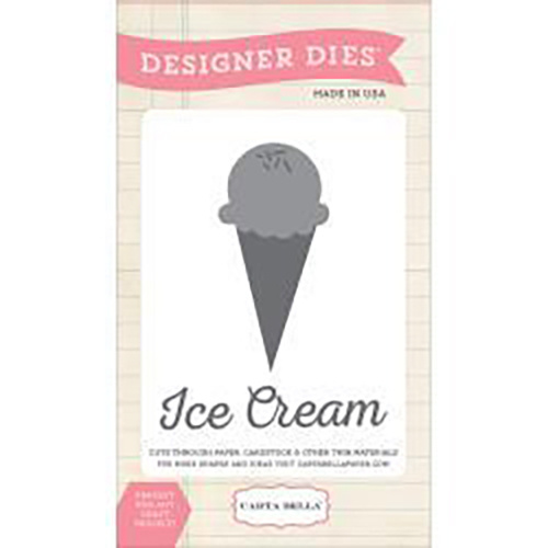 Carta Bella Die Soak Up The Sun Ice Cream Scoop