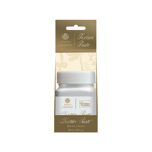 Couture Creations Texture Paste White 250ml by Anna Griffin