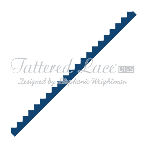 Tattered Lace Die Zig Zag Border