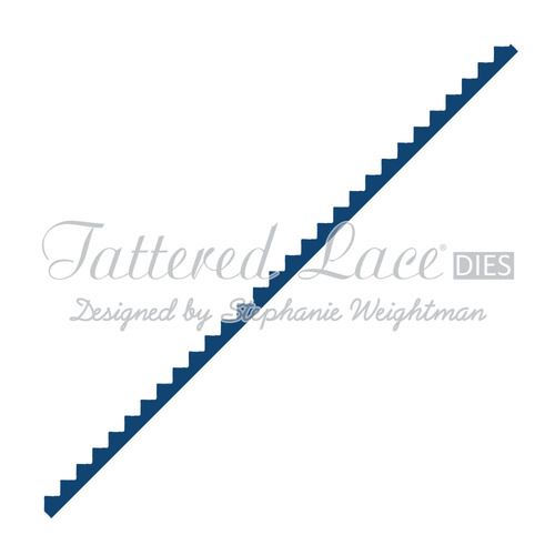 Tattered Lace Die Small Zig Zag Border