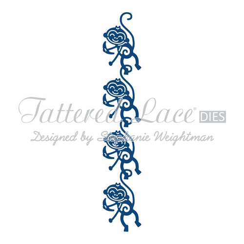 Tattered Lace Die Monkey Border
