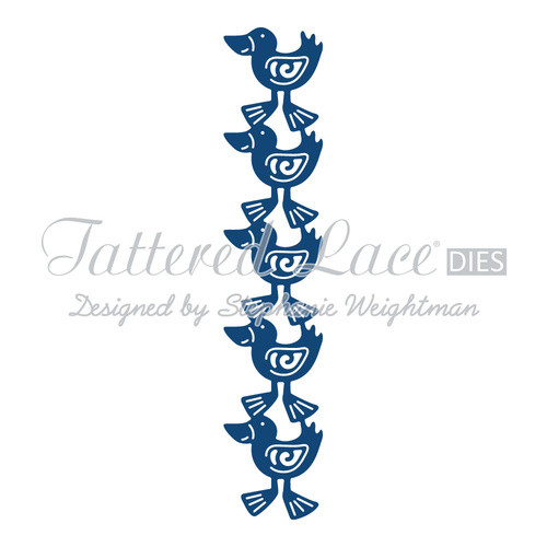 Tattered Lace Die Duck Border