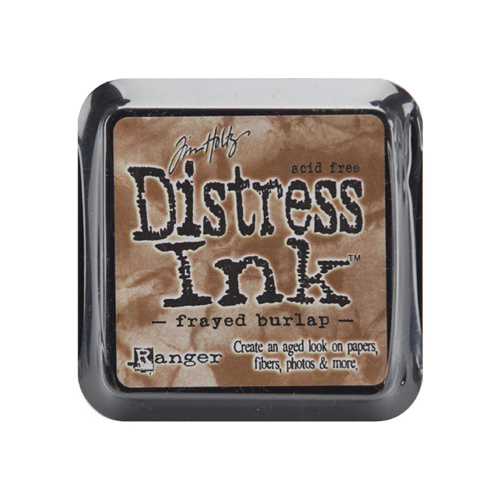 Ranger Distress Ink Pad Frayed Burlap by Tim Holtz