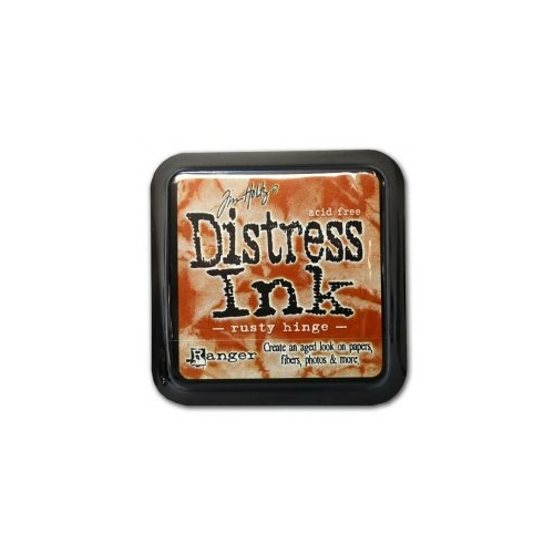 Ranger Distress Ink Pad Rusty Hinge by Tim Holtz