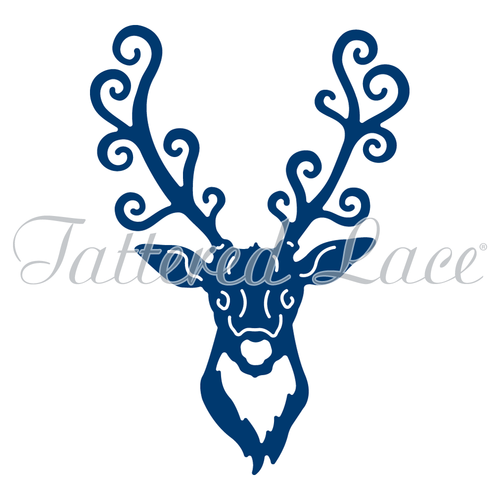 Tattered Lace Die Stag