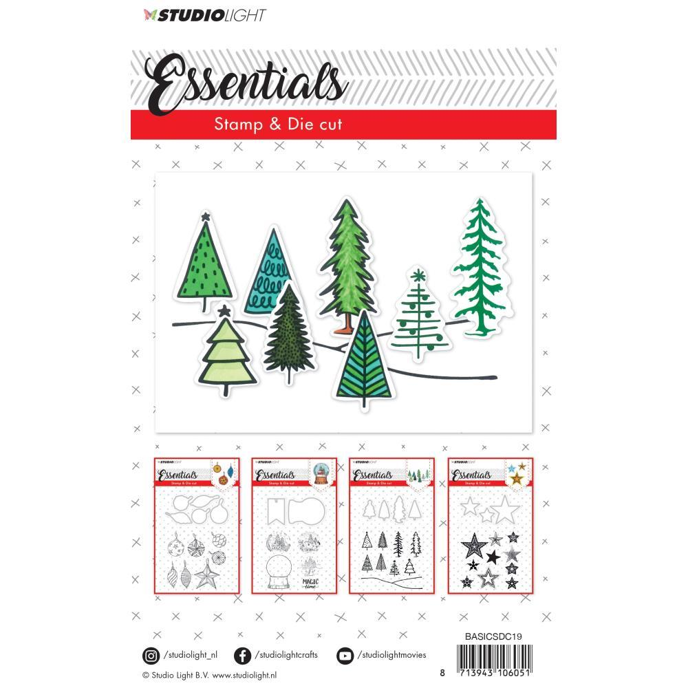 Ultimate Crafts /'SEASON/'S GREETINGS STAMP /& EMBOSS SET/' Christmas *Deleted*