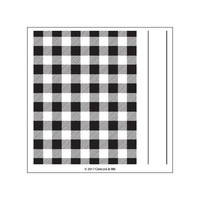 Concord & 9th Clear Stamp Set Plaid Background