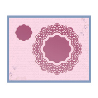 Ultimate Crafts Die Magnolia Lane Doily 88.7x92.8mm