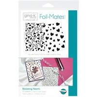 Thermoweb Foil-Mates Background Hearts by Gina K