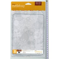 "Provo Craft Cuttlebug Cutting Plate B 6x8"" 2pk"