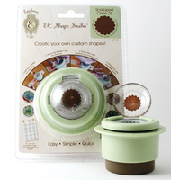 Epiphany Crafts Shape Studio Tool Scallop Circle 25