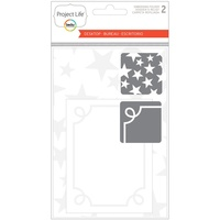 Project Life Embossing Folder A2/3x4 2pk Desktop Edition