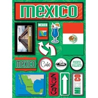JET SETTER DIMENSIONAL STICKER MEXICO
