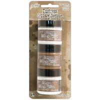 Ranger Tim Holtz Distress Collage Mini Mediums 1oz 3pk Matte, Vintage & Crazing