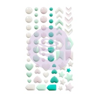 Prima Havana Enamel Shapes Stickers 69pc