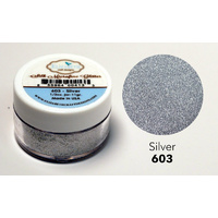 Elizabeth Craft Designs Silk Microfine Glitter 11g Silver